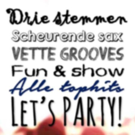 bruiloft feest party band