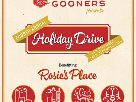 Fourth Annual Holiday Drive
