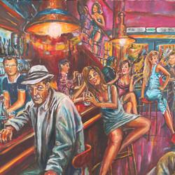 Les tabourets du bar