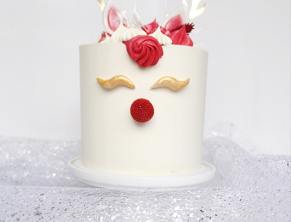 White Rudolph Cake (Local only)
