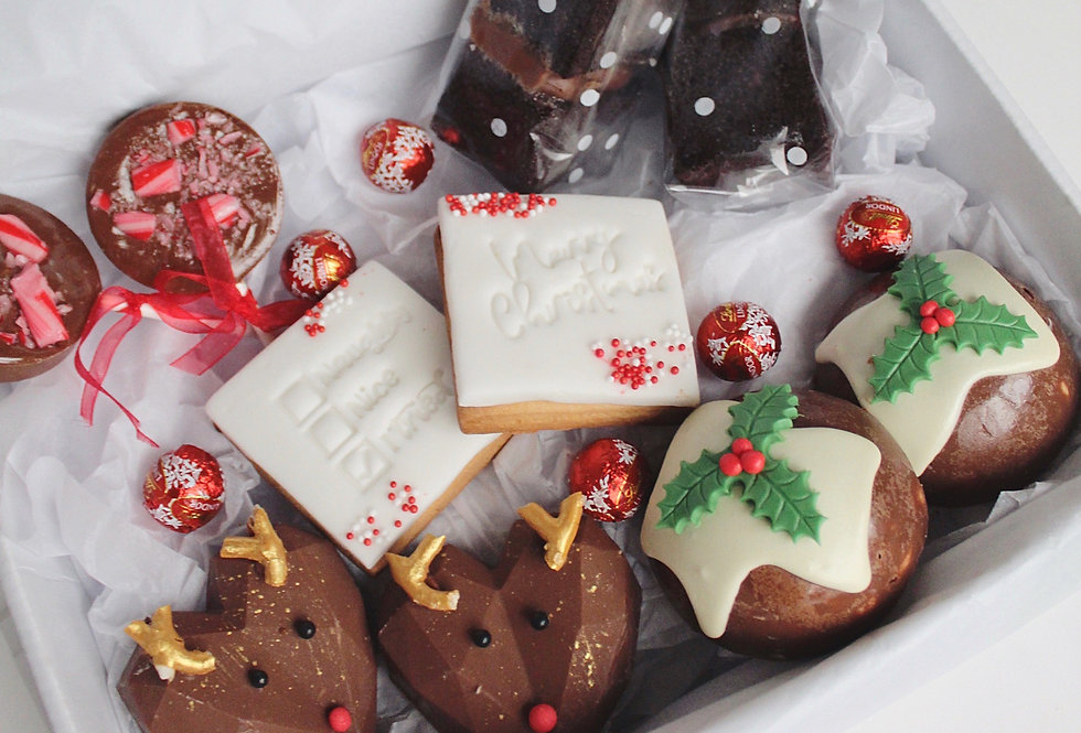 Christmas Chocolate Box