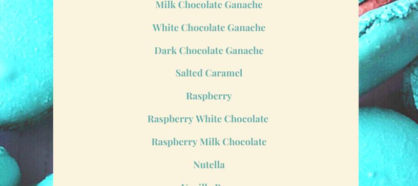 Macaron Flavours