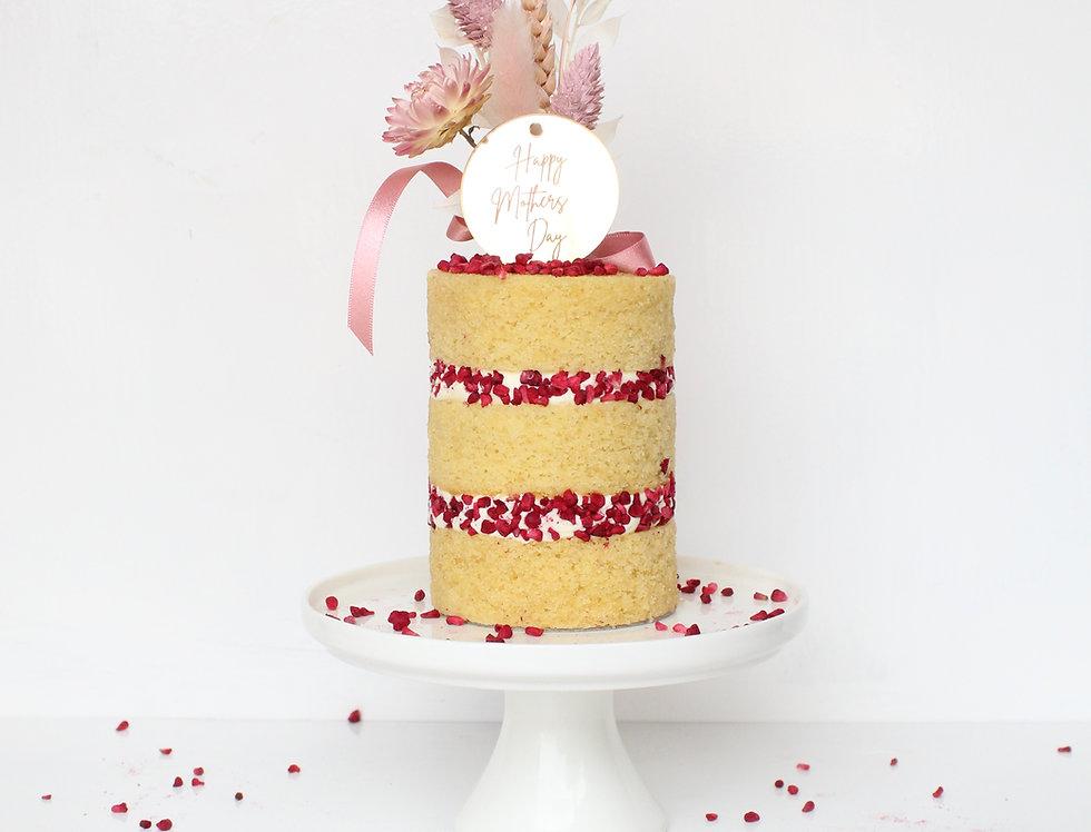 Mother's Day Lemon & Rasp. Mini Cake