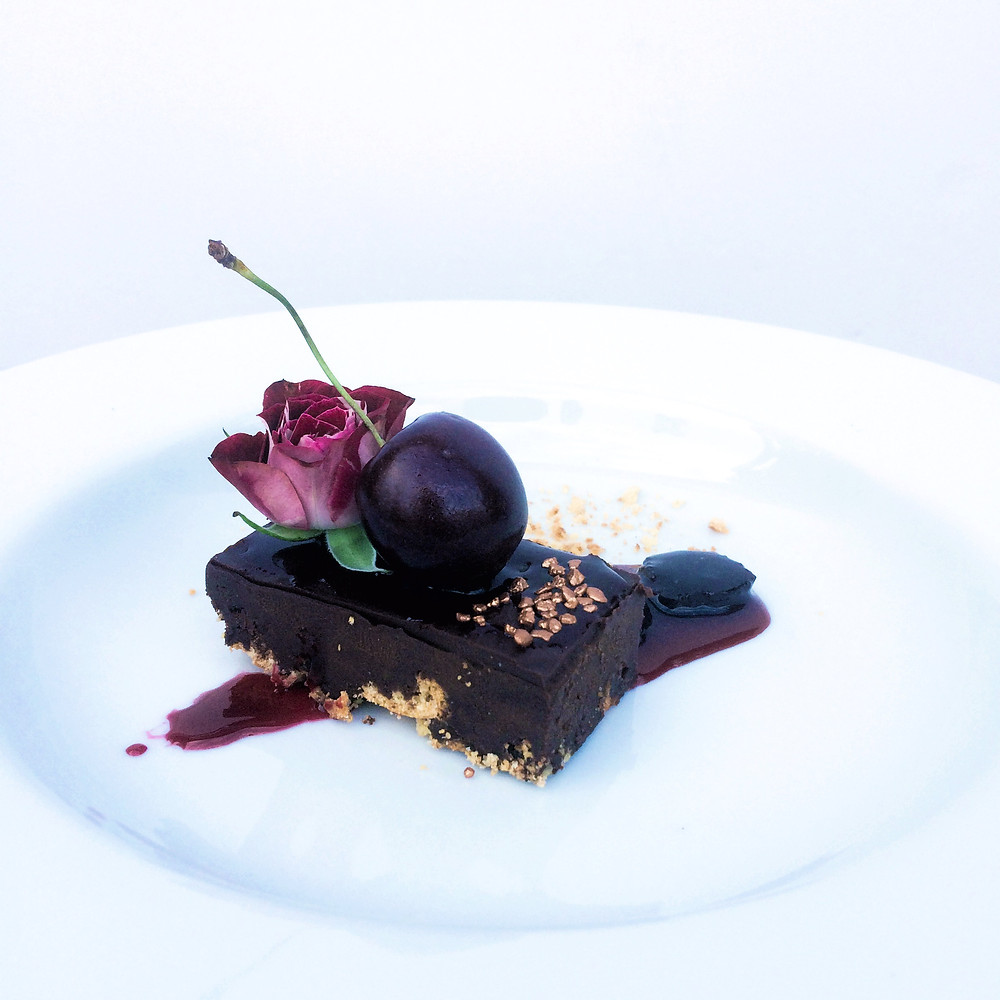 Chocolate Cherry Ganache - Sky Meadow Bakery blog