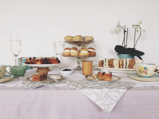 Afternoon Tea – Scones And Final Touches