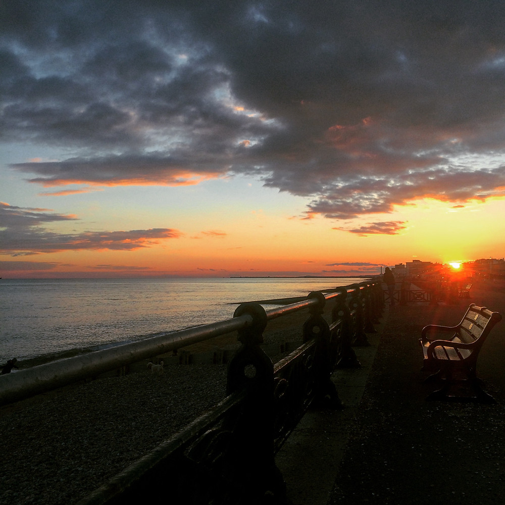 Seafront Sunset - Sky Meadow Bakery blog