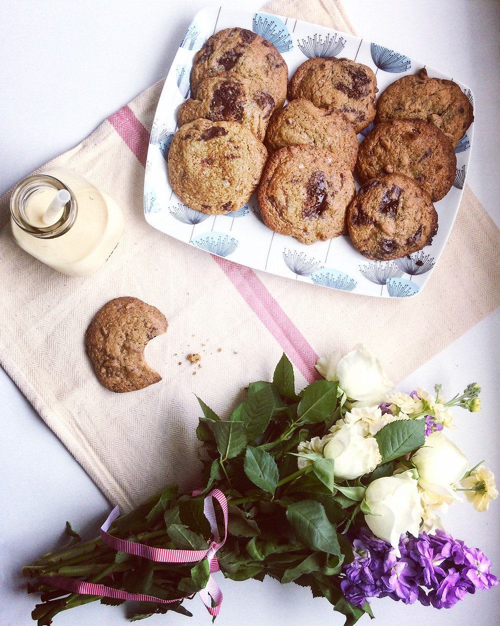 Toasted Pecan and Chocolate Chunk Cookies - Sky Meadow Bakery Blog