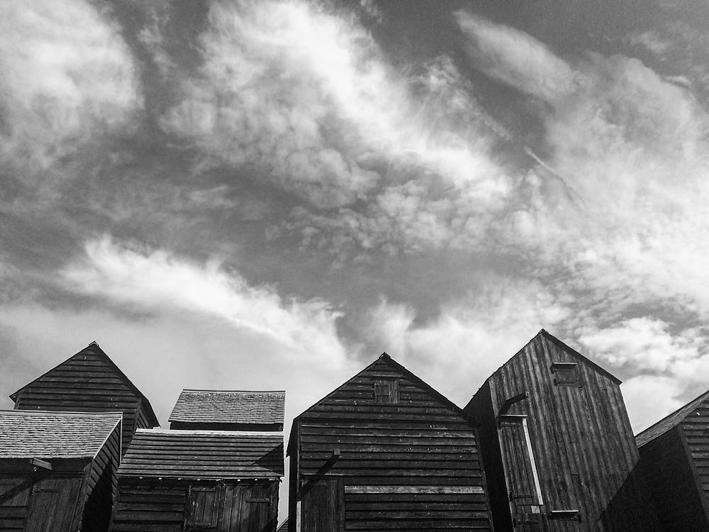 Hastings Fishing Net Huts - Sky Meadow Bakery blog