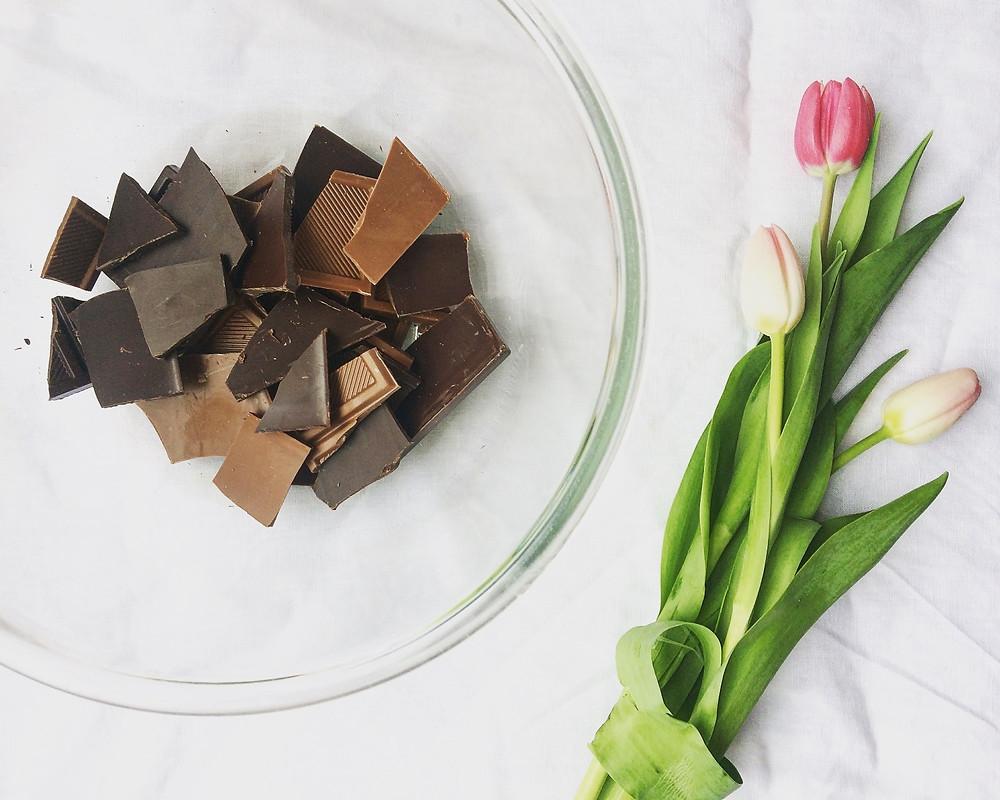 Melting Chocolate - Sky Meadow Bakery blog