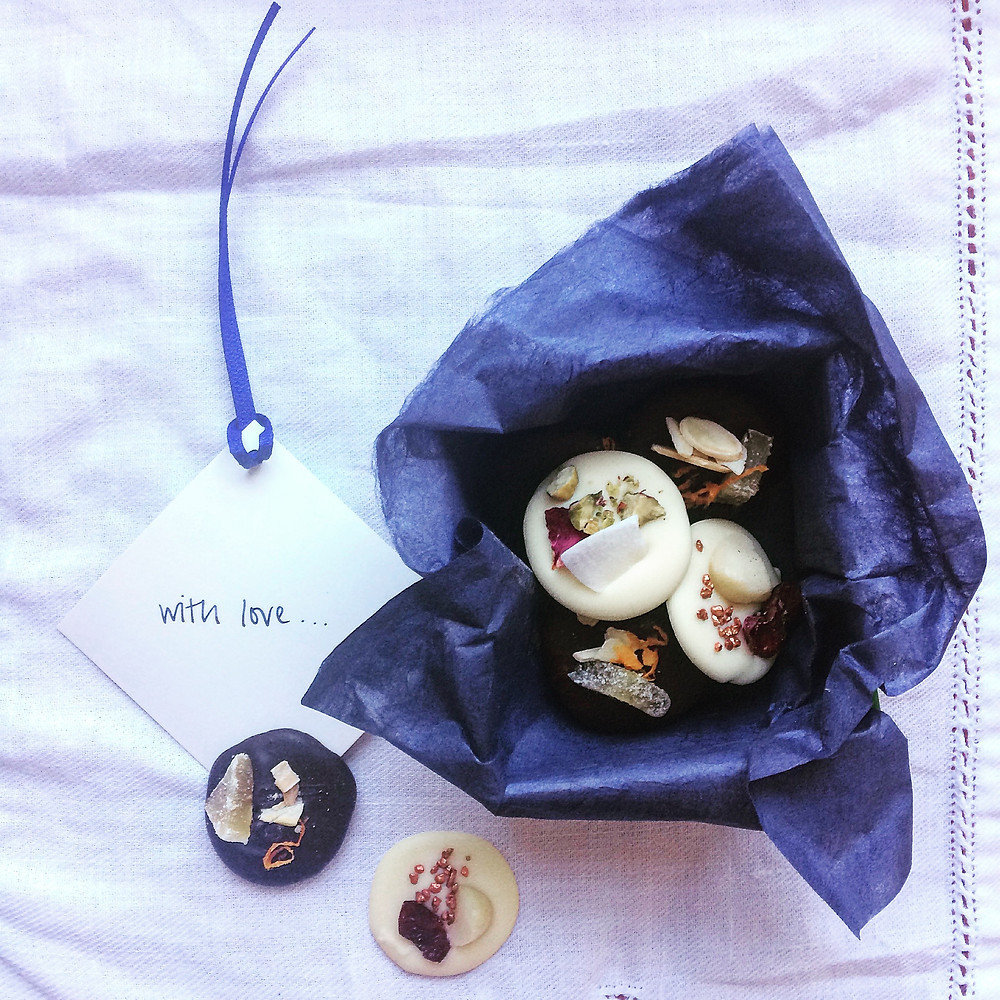 Boxed Mendiants - Sky Meadow Bakery blog