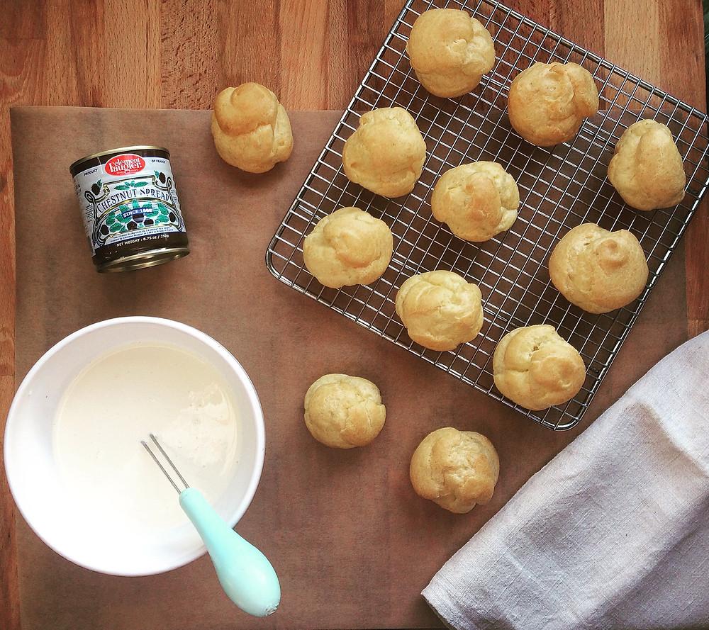 Profiteroles - Sky Meadow Bakery Blog