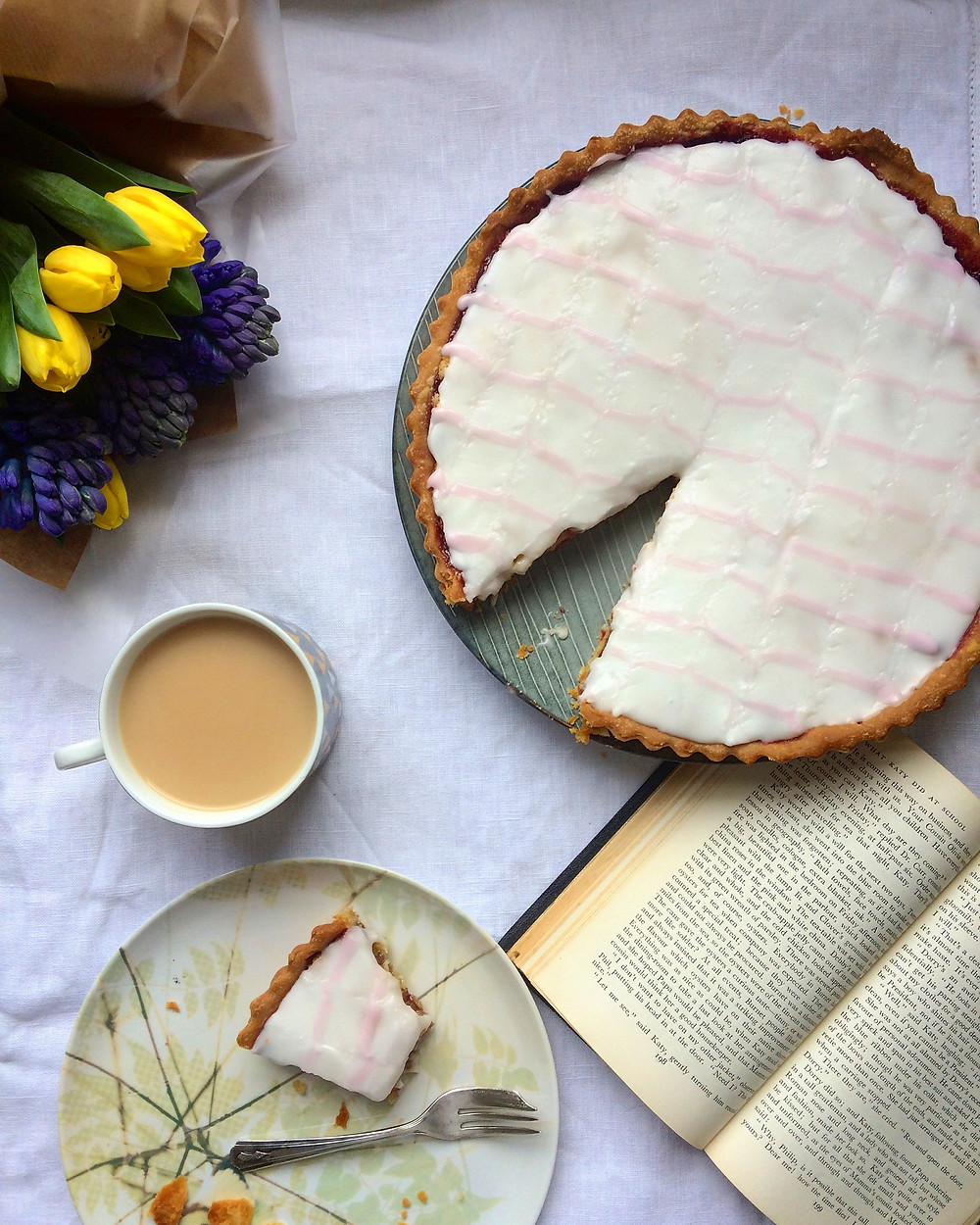 Bakewell Tart - Sky Meadow Bakery blog