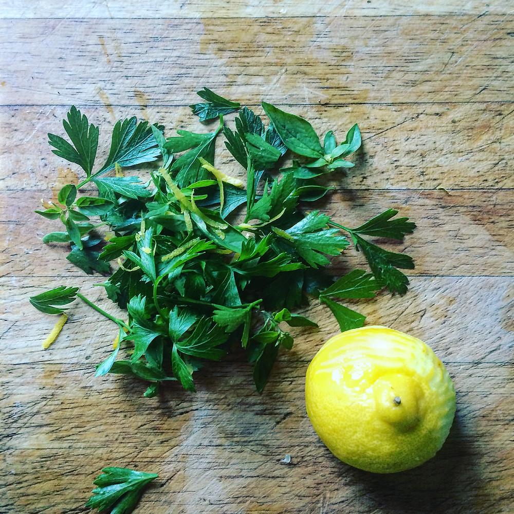 Fresh Herb Butter - Sky Meadow Bakery blog