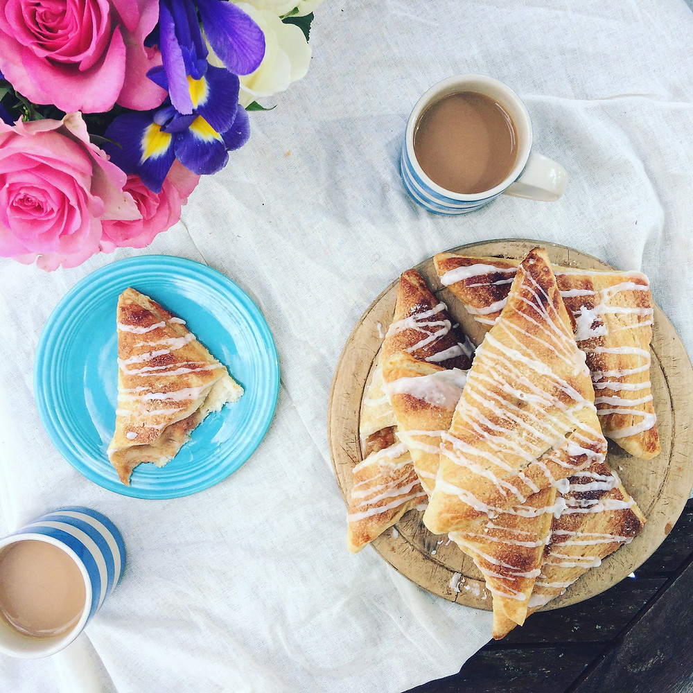 Apple Turnovers - Sky Meadow Bakery blog