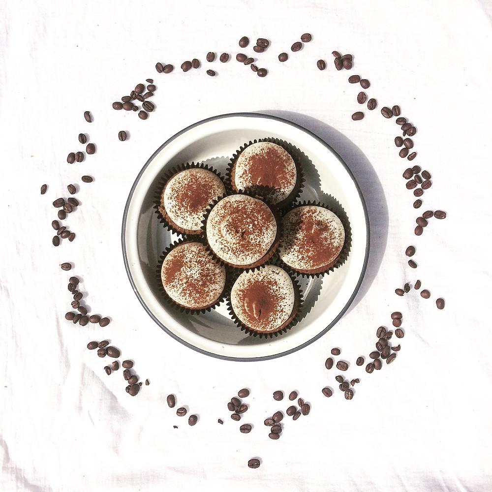 Cappuccino Cupcakes - Sky Meadow Bakery blog