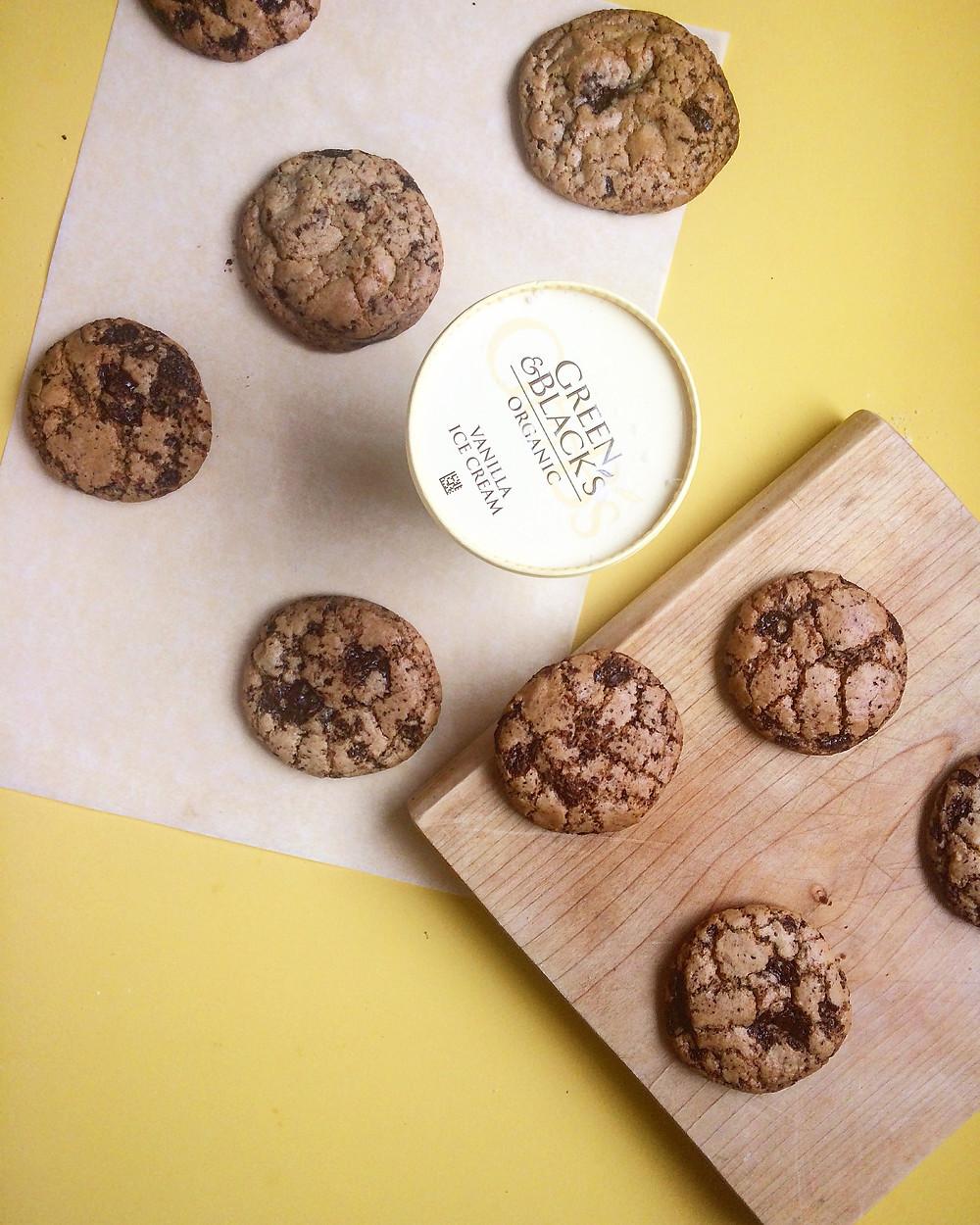 Chocolate Chip Cookies - Sky Meadow Bakery blog
