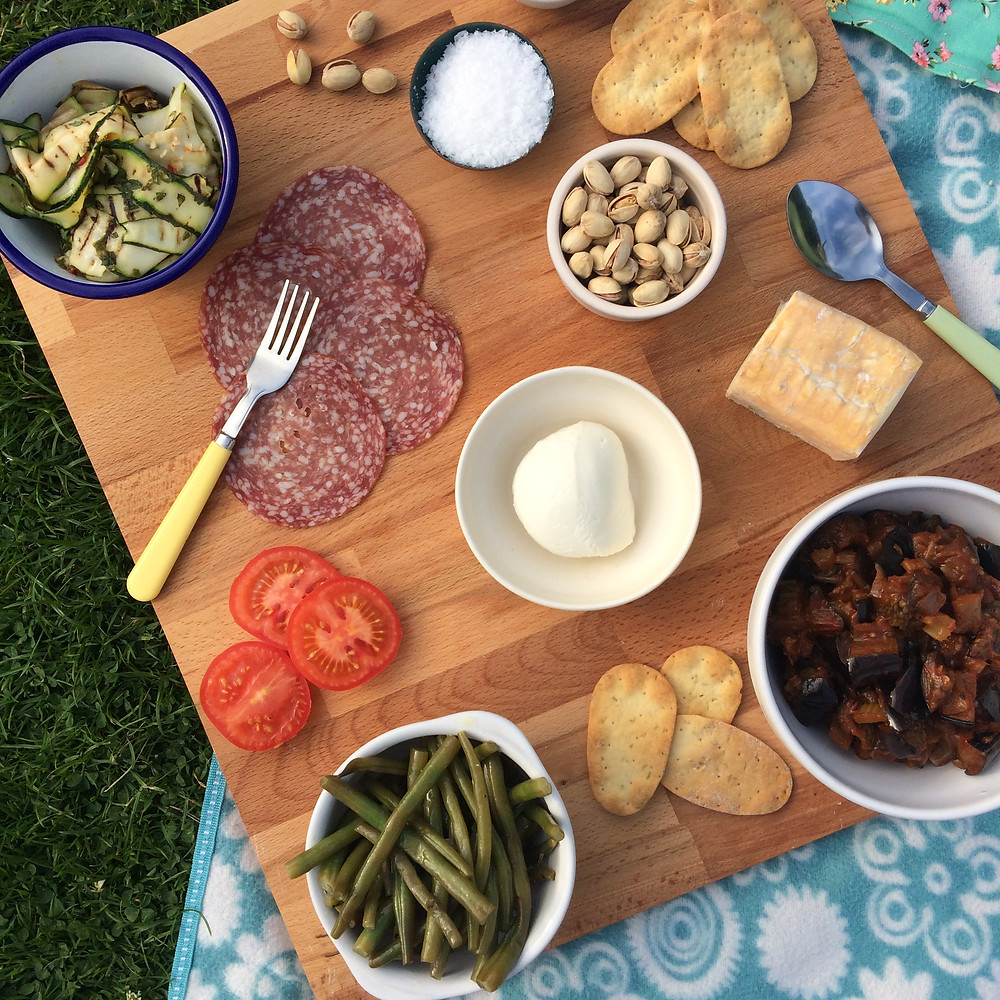 Italian Picnic - Sky Meadow Bakery blog