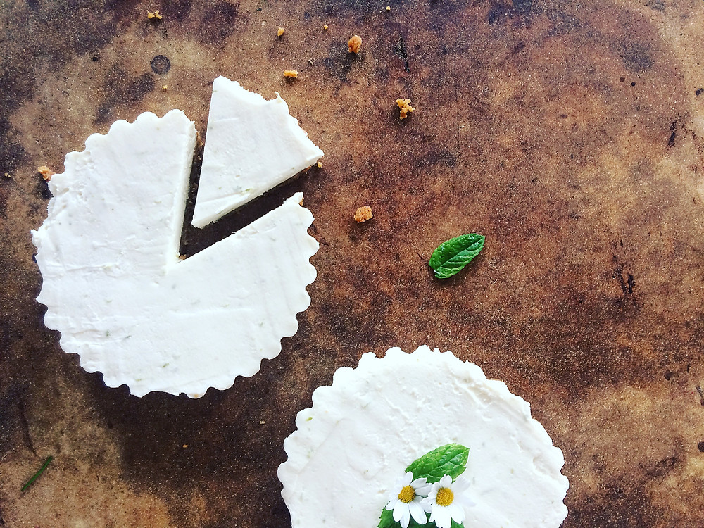 Lime and Ginger cheesecake - Sky Meadow Bakery blog