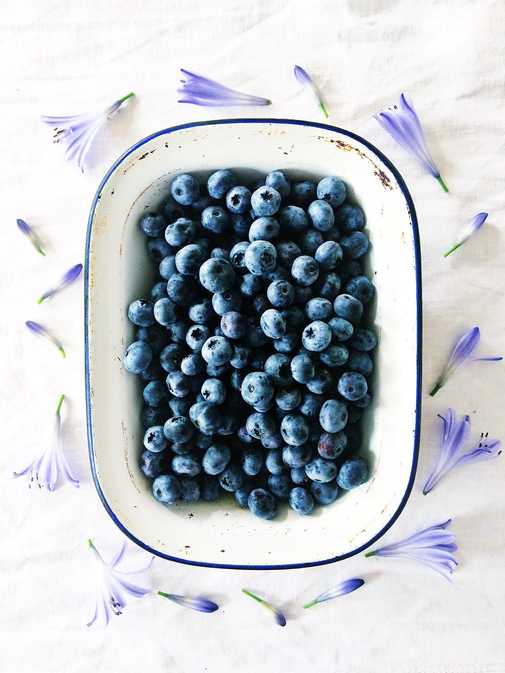 Blueberries - Sky Meadow Bakery blog