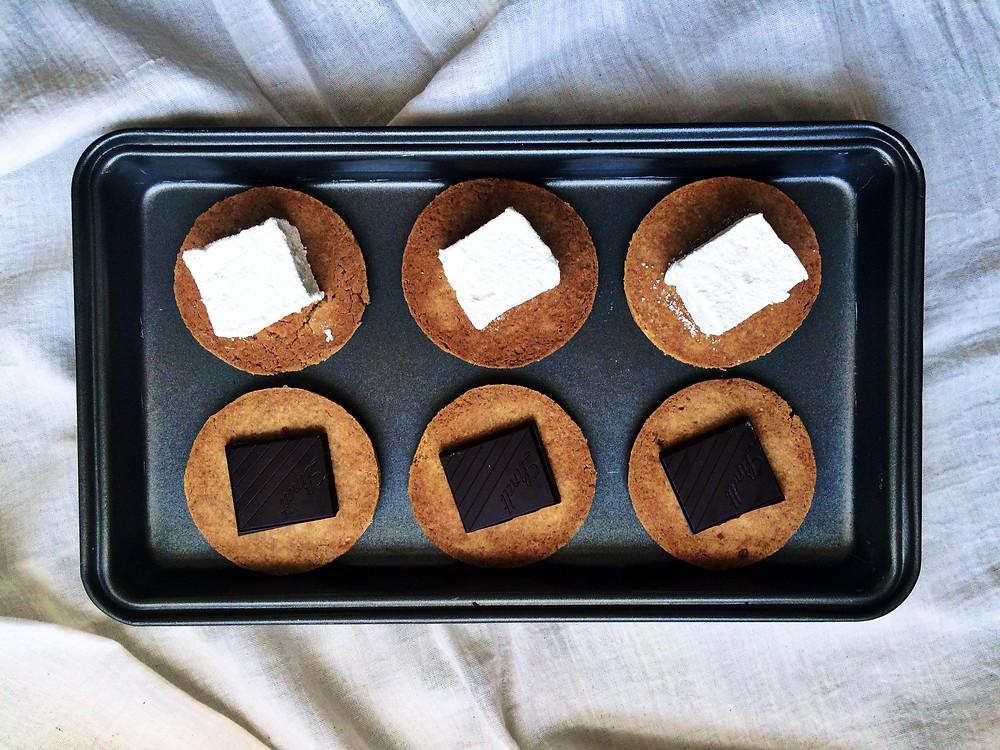 S'more Preparations - Sky Meadow Bakery blog