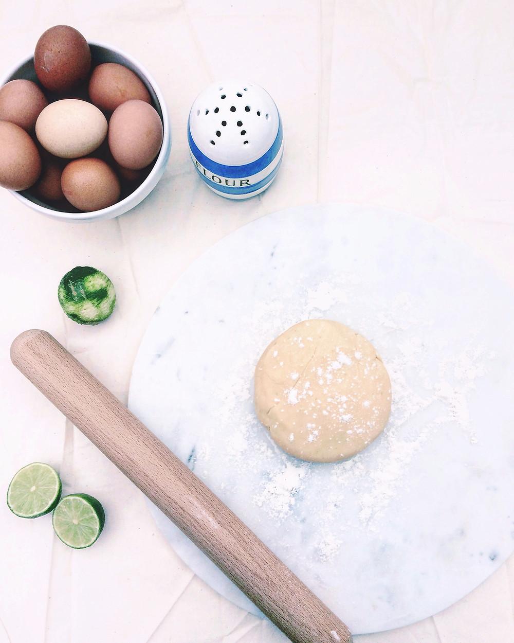 Zesty Shortcrust Pastry - Sky Meadow Bakery blog