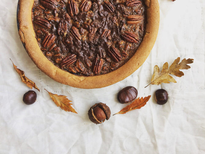 Golden Leaves and Pecan Pie