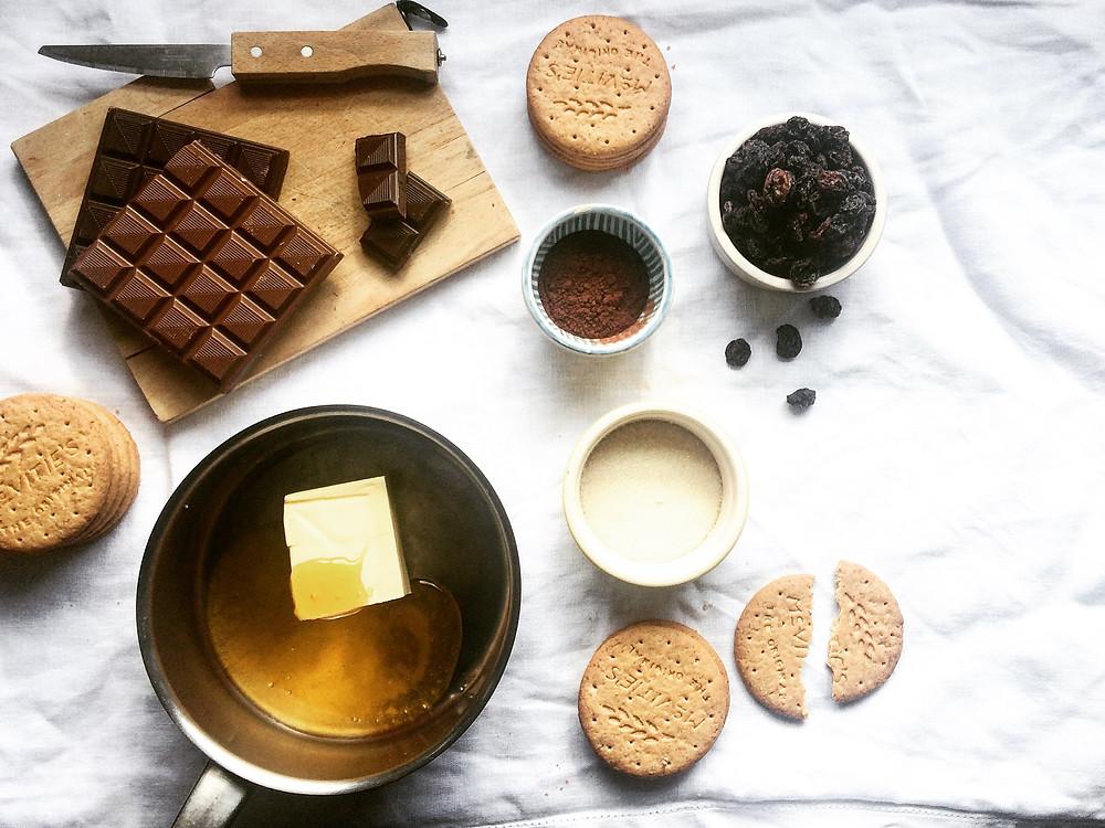Tiffin Ingredient preparations - Sky Meadow Bakery blog