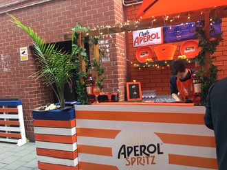 Club Aperol - A touch of Italy in the heart of the CBD
