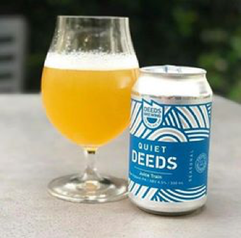 3. Quiet Deeds Juice Train - Deeds Brewing (VIC)
