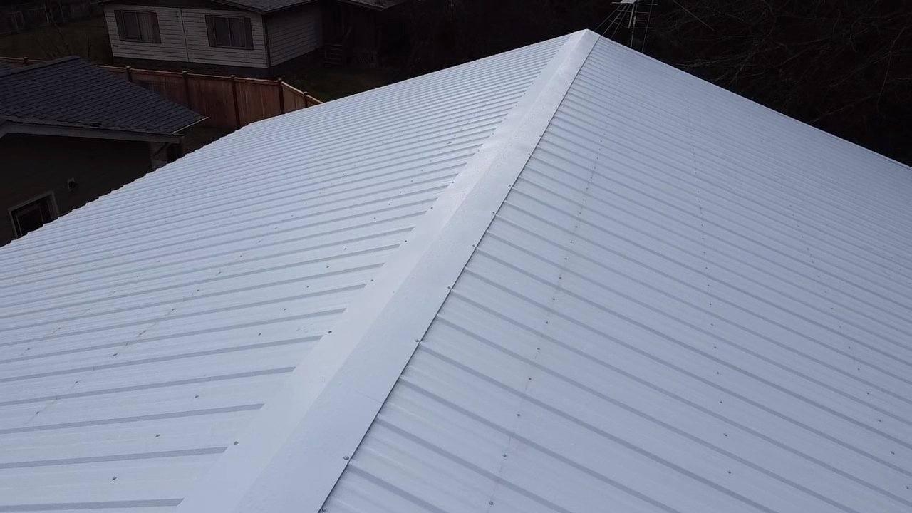 Shop Roof - Sheet Metal Roof