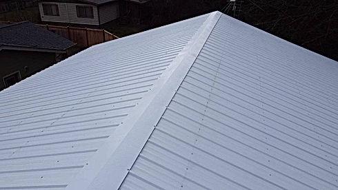 Metal Roofing - Shop Roof