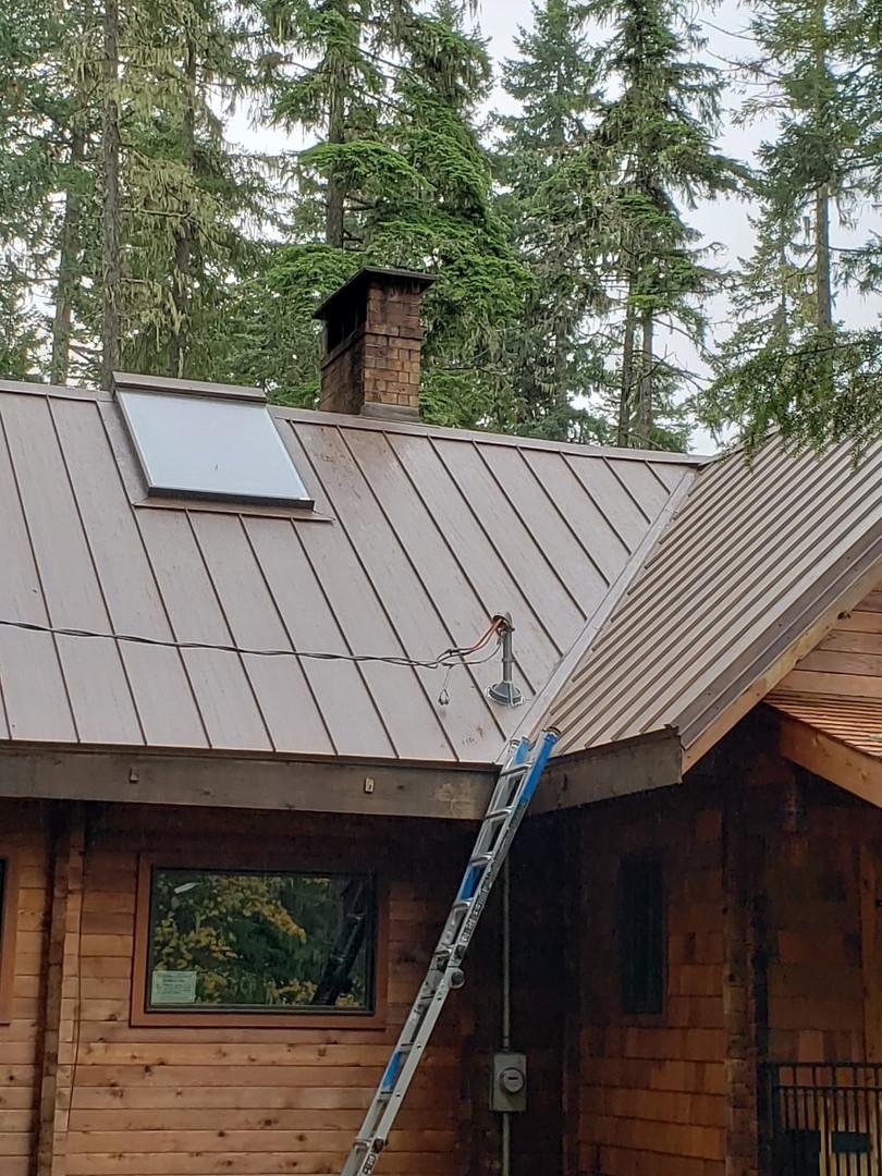 Metal Roof - Cabin Roof