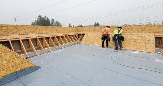 Commercial Roofing - TPO Roofing - Installation