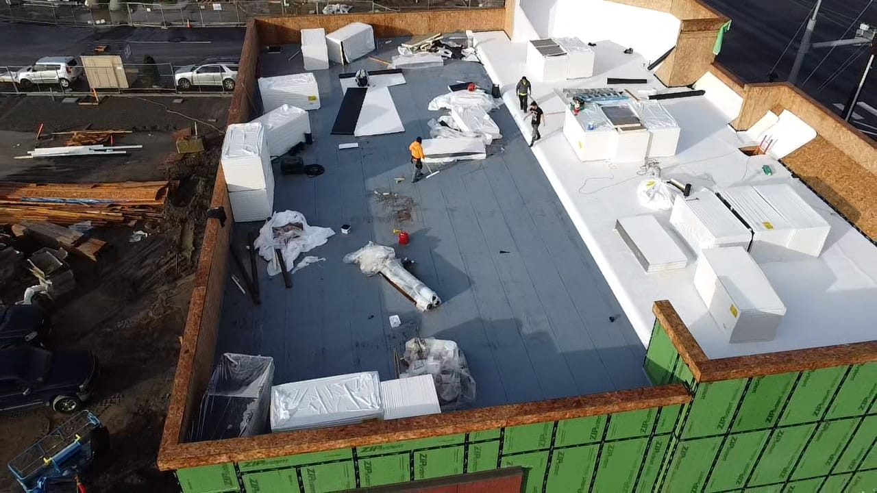 Commercial Roofing - Flat Roofing Installation