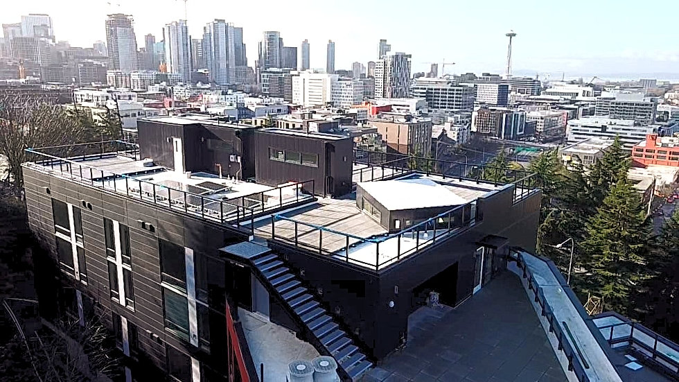 Commericial Roof - Seattle