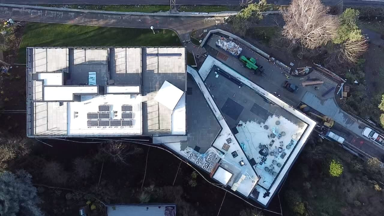 Commercial Roofing - Aerial View