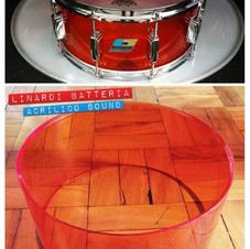 Tambores em Acrílico - Alta Qualidade