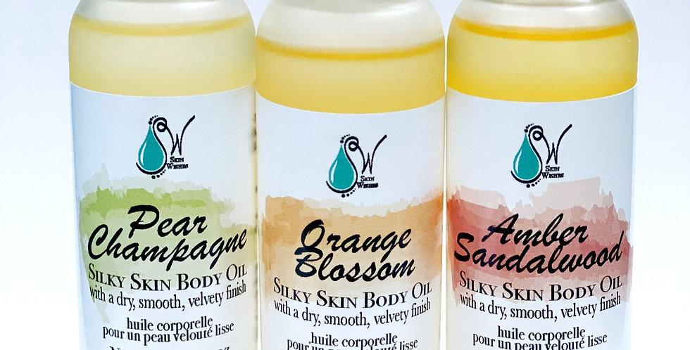 Silky Skin Dry Body Oil
