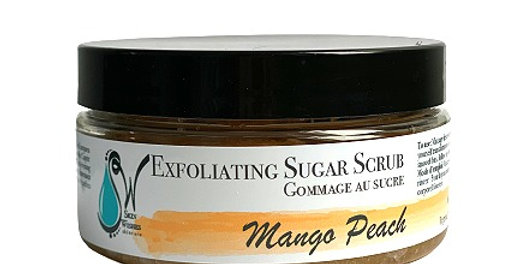 Mango Peach Sugar Scrub