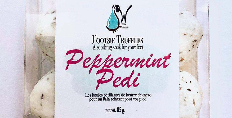 Peppermint Pedi Foot Truffles