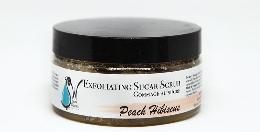 Peach Hibiscus Sugar Scrub