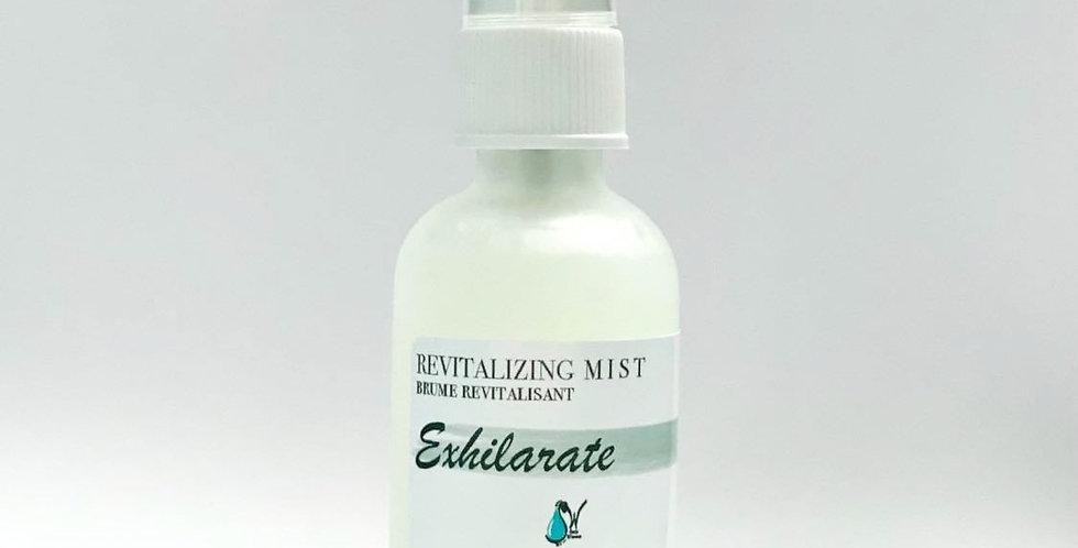 Exhilarate Mist:  R E V I T A L I Z I N G