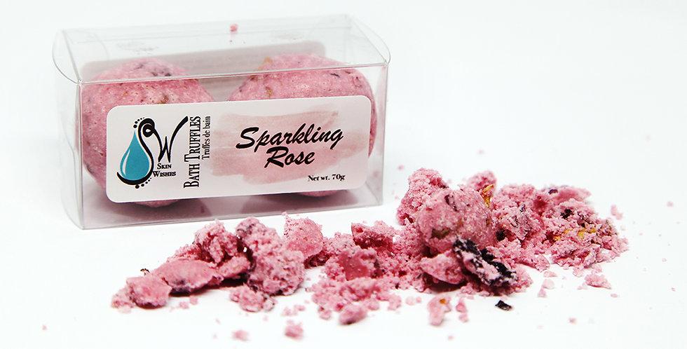 Sparkling Rose Bath Truffle