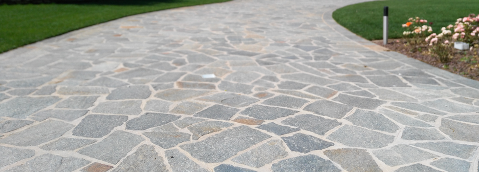 mosaico in pietra di luserna