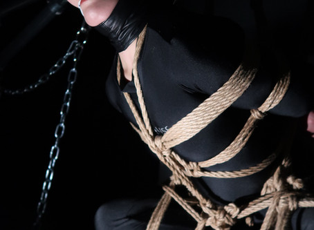 私からの励ましと、拘束の良さについて。/Encouragement and about good bondage.