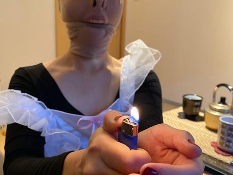 お給仕のレッスン/Waitress lesson for submissive