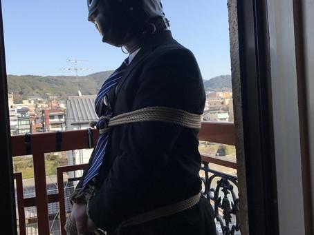 KYOTOスーツ緊縛/KYOTO business suit KINBAKU