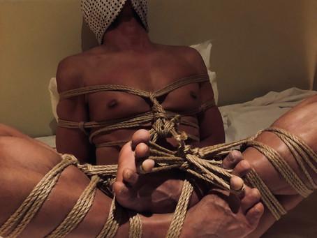 【札幌】マゾに親切な縄/【Sapporo】Rope practice for bondage mania.