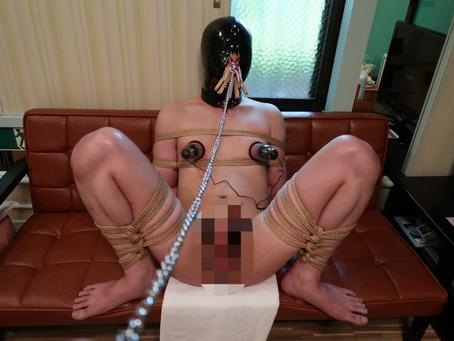 Long time bondage session/長い時間のボンデージセッション