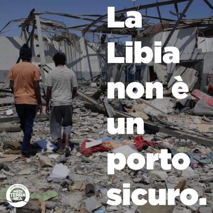 Mediterranea chiede l'interruzione degli accordi Italia-Libia